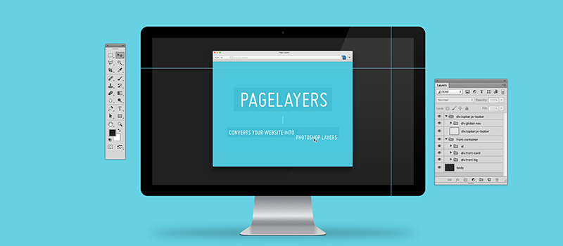 Page Layers - Website Screenshots for MacOS - Converts your website into Photoshop Layers